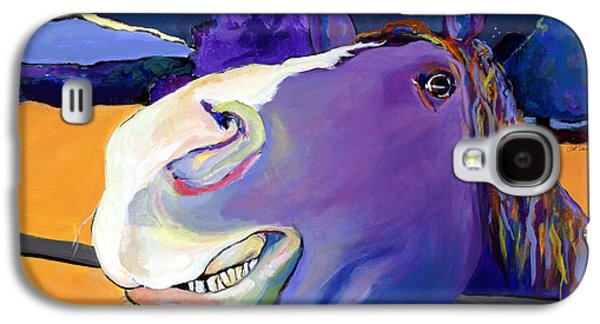 Horse Galaxy S4 Case - Got Oats      by Pat Saunders-White