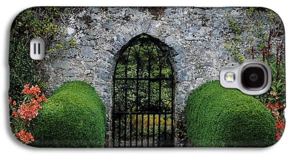 Gothic Entrance Gate, Walled Garden Galaxy S4 Case by The Irish Image Collection