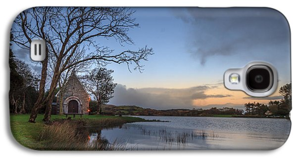 Gougane Barra Sunset Galaxy S4 Case by John Hurley