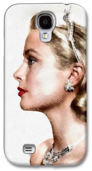 Grace Kelly Galaxy S4 Case - Grace Kelly, Actress And Princess by John Springfield