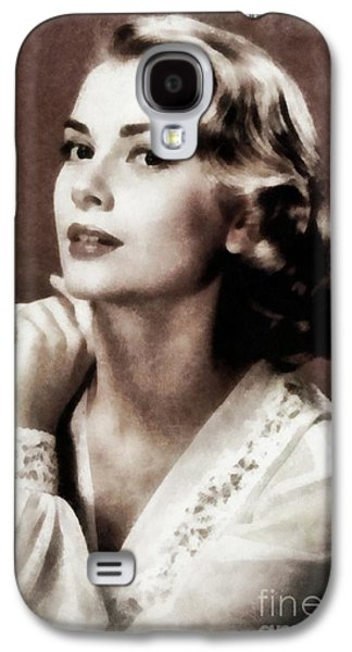 Grace Kelly, Actress, By Js Galaxy S4 Case