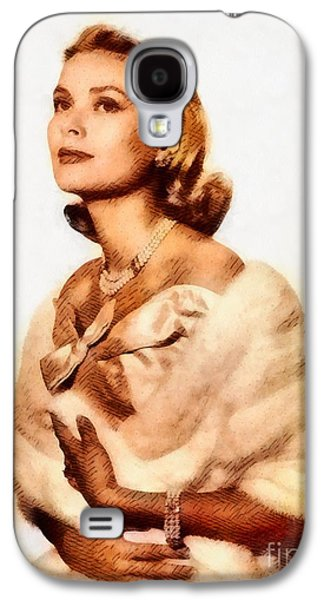 Grace Kelly, Vintage Actress By John Springfield Galaxy S4 Case
