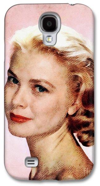 Grace Kelly Galaxy S4 Case - Grace Kelly, Vintage Actress by John Springfield