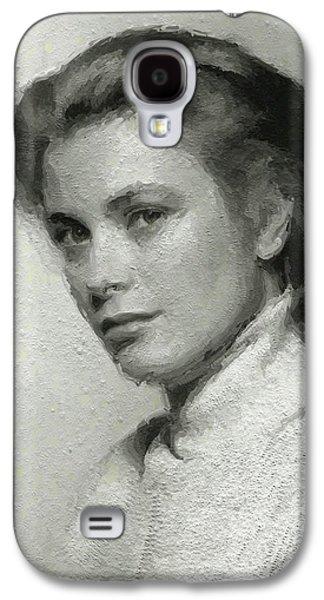Grace Kelly Galaxy S4 Case - Grace Kelly, Vintage Actress by Mary Bassett