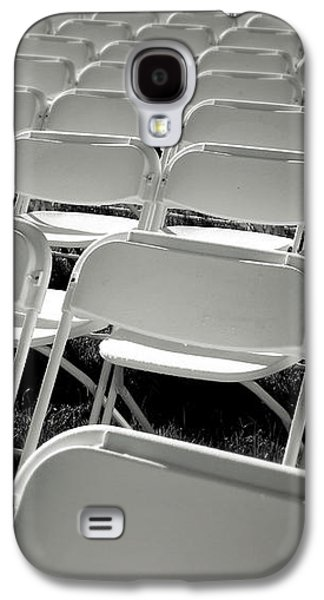 Graduation Day- Black And White Photography By Linda Woods Galaxy S4 Case by Linda Woods