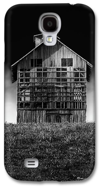 Grain Dryer Bw Galaxy S4 Case by Marvin Spates