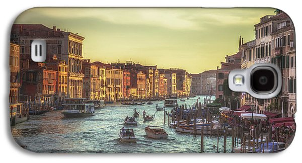 Grand Canal As The Sun Is Setting Galaxy S4 Case by Chris Fletcher