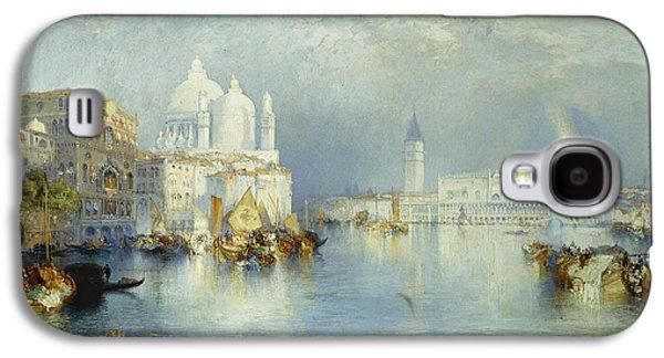 Grand Canal Venice Galaxy S4 Case by Thomas Moran