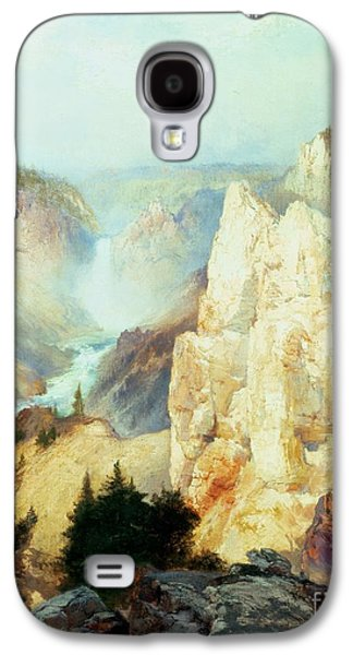 Grand Canyon Of The Yellowstone Park Galaxy S4 Case by Thomas Moran