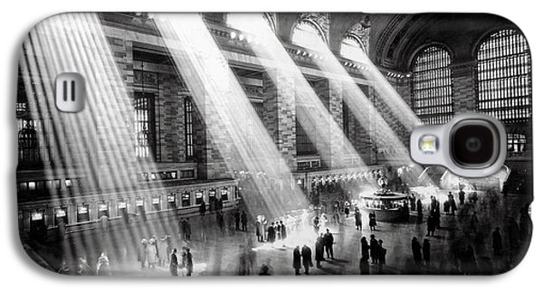 Grand Central Station New York City Galaxy S4 Case by Jon Neidert