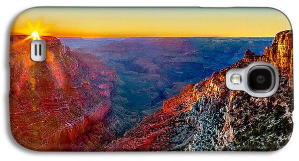 Sun Rays Galaxy S4 Case - Grand Sunset by Az Jackson
