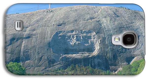Granite Carving Of Confederate Galaxy S4 Case by Panoramic Images