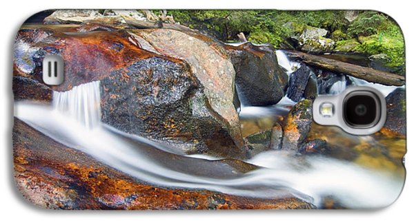 Galaxy S4 Case featuring the photograph Granite Falls by Gary Lengyel