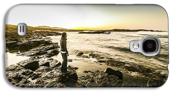 Granville Harbour Sunrise Galaxy S4 Case by Jorgo Photography - Wall Art Gallery