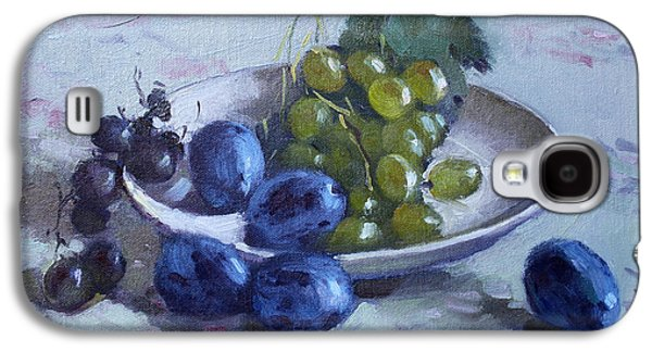 Grapes And Plums Galaxy S4 Case
