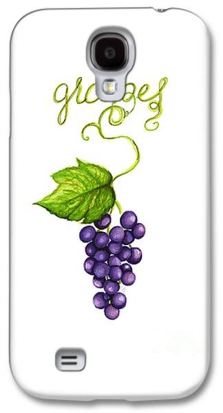 Grapes Galaxy S4 Case