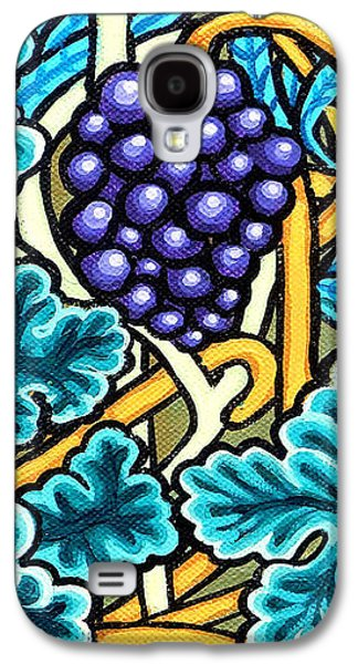 Grapes Galaxy S4 Case by Genevieve Esson