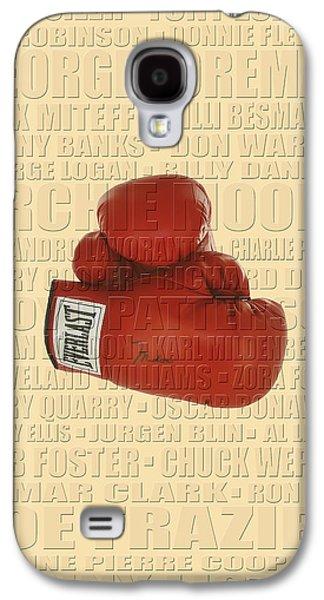Boxer Galaxy S4 Cases - Graphic Ali Galaxy S4 Case by Andrew Fare
