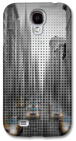 Graphic Art Nyc 5th Avenue Traffic II Galaxy S4 Case by Melanie Viola