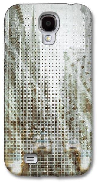 Graphic Art Nyc 5th Avenue Traffic Iv Galaxy S4 Case by Melanie Viola