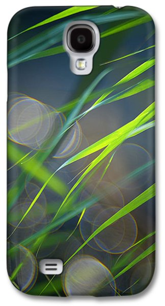 Grass And Evening Light Galaxy S4 Case by Silke Magino