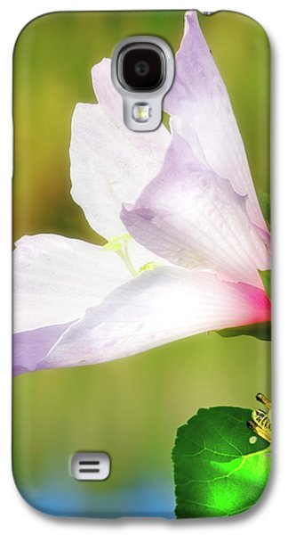 Grasshopper And Flower Galaxy S4 Case