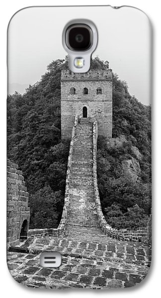 Galaxy S4 Case featuring the photograph Great Wall 1, Jinshanling, 2016 by Hitendra SINKAR