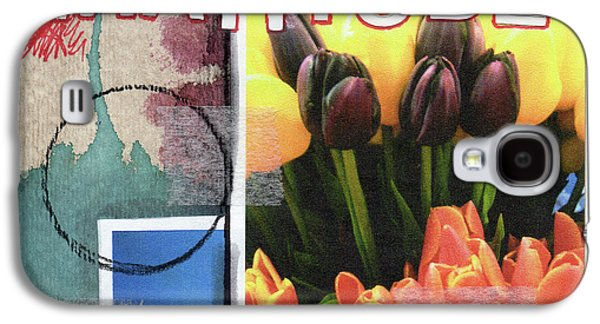 Tulip Galaxy S4 Case - Gratitude- Art By Linda Woods by Linda Woods