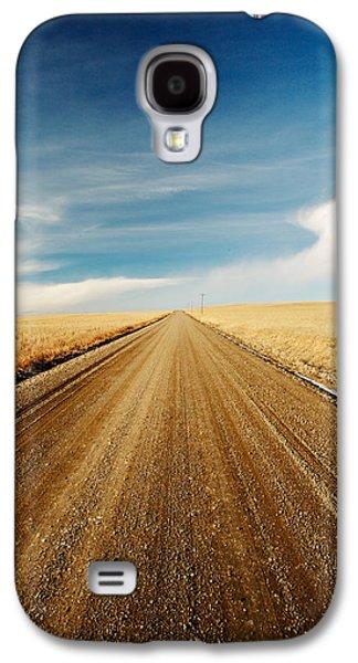 Gravel Lines Galaxy S4 Case by Todd Klassy