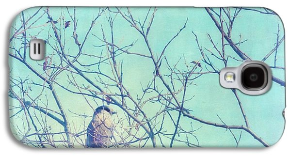 Gray Jay In A Tree Galaxy S4 Case by Priska Wettstein