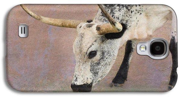 Cow Digital Galaxy S4 Cases - Grazing Galaxy S4 Case by Betty LaRue