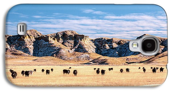 Grazing In The Badlands Galaxy S4 Case by Todd Klassy