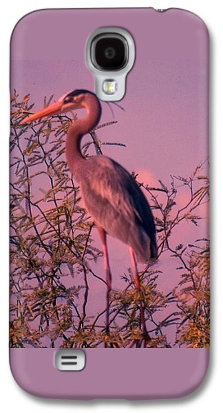 Great Blue Heron - Artistic 6 Galaxy S4 Case