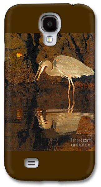 Great Blue Heron Galaxy S4 Case