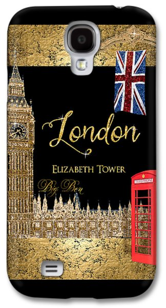Great Cities London - Big Ben British Phone Booth Galaxy S4 Case