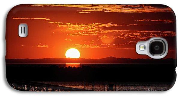 Great Salt Lake Sunset Galaxy S4 Case