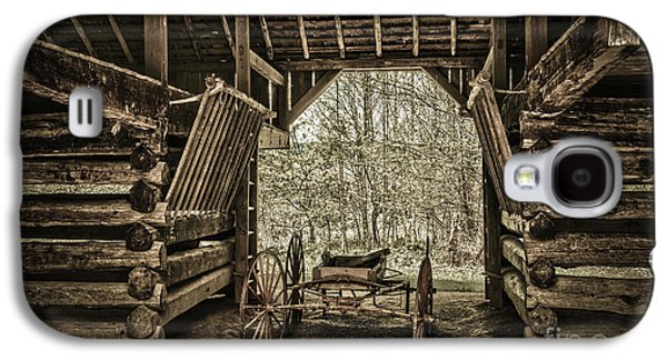 Great Smoky Mountains National Park, Tennessee - Broken Wagon. Cades Cove Galaxy S4 Case by Stefano Senise