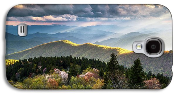 Great Smoky Mountains National Park - The Ridge Galaxy S4 Case by Dave Allen