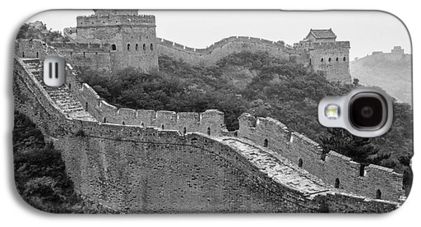 Galaxy S4 Case featuring the photograph Great Wall 8, Jinshanling, 2016 by Hitendra SINKAR