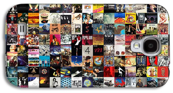 Rock And Roll Galaxy S4 Case - Greatest Album Covers Of All Time by Zapista