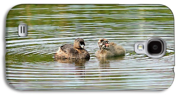 Grebes And Ripples Galaxy S4 Case
