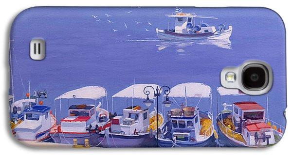Greek Fishing Boats Galaxy S4 Case