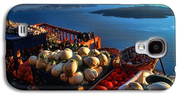 Greek Food At Santorini Galaxy S4 Case