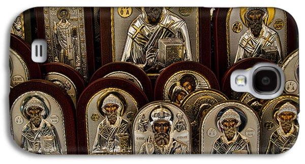 Greek Orthodox Church Icons Galaxy S4 Case by David Smith
