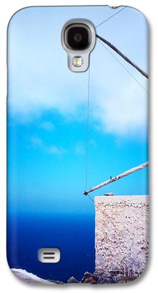 Greek Windmill Galaxy S4 Case