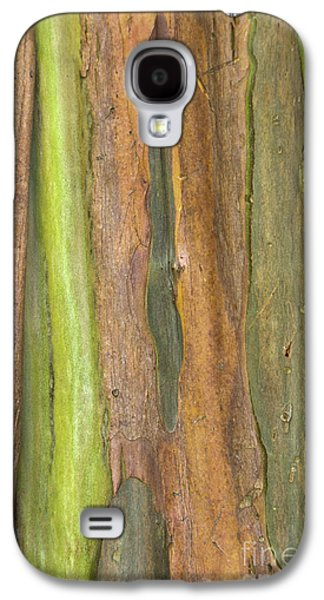 Galaxy S4 Case featuring the photograph Green Bark 3 by Werner Padarin