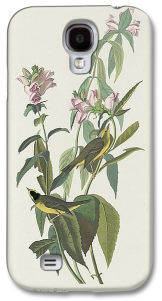 Flycatcher Galaxy S4 Case - Green Black-capt Flycatcher by Dreyer Wildlife Print Collections
