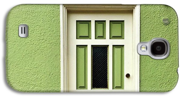 Galaxy S4 Case - Green Door Detail by Julie Gebhardt
