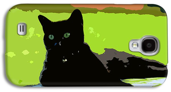 Green Eyes Galaxy S4 Case