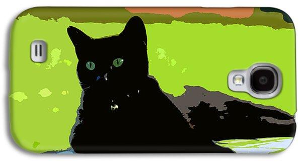 Green Eyes Galaxy S4 Case by David Lee Thompson